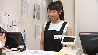 Unbelievable Japanese model close to Outsider HD, Disgorge JAV shore up steady