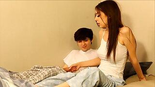 Vulgar experienced brother seduces sister